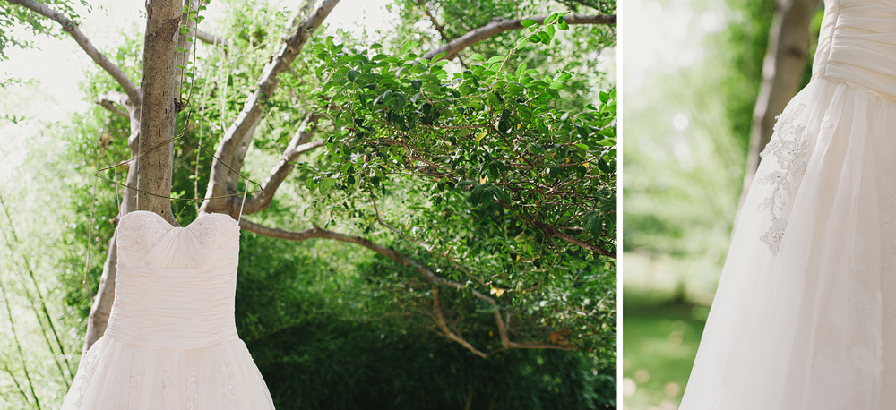ft worth outdoor botanic garden wedding